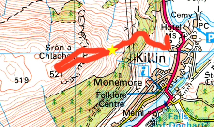 hill race map
